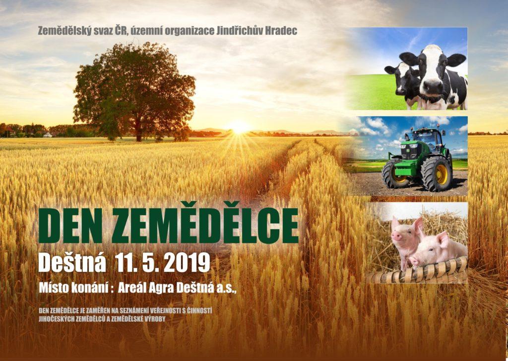 den zemedělce 2019 pozvanka